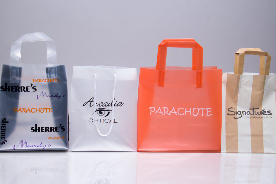 Stylish Printing Personalized Logo On The Custom Grocery Bags